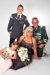 003_Königspaar Töller mit Familie