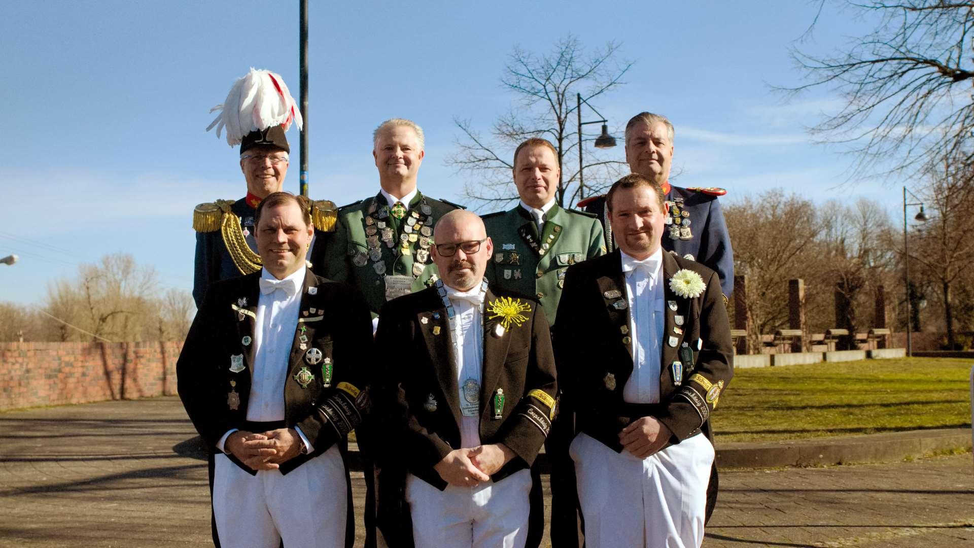 Vorstand - St.-Aloysius Bruderschaft Stürzelberg