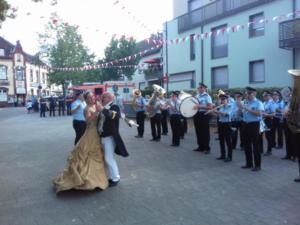 Tanz zu PrettyWoman der BSK Neuss