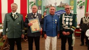 Jubilare 50 Jahre: Andreas Heuer und Peter Wissdorf