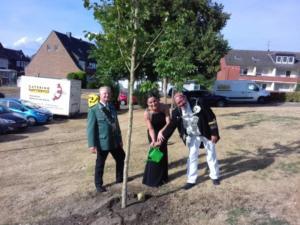 Baumpflanzung am Schützenhaus