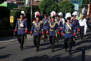 Regimentsführung von Stürzelberg und Zons